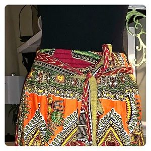 Dresses & Skirts - Maxi African inspired maxi skirt